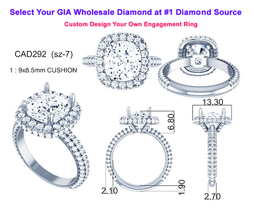 Wholesale Engagement Rings For Your Loose Diamond