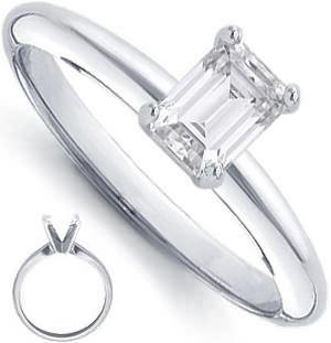 Custom Platinum Ring Setting